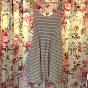 NWT Striped Dress W/Pockets